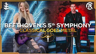 Beethoven's 5th Symphony (Metal Cover) | Cole Rolland x Sophie Lloyd