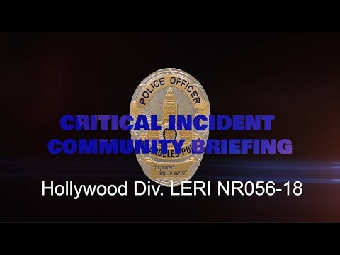 Critical Incident Video Release NRF056 18 HWD LERI