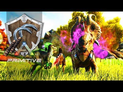 ARK PRIMITIVE T2 EP22 - As Habilidades Pachyrhinosaurus!