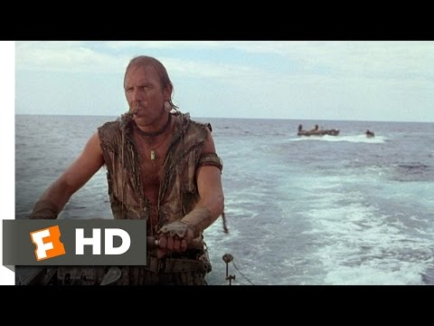 Waterworld (1/10) Movie CLIP - Revenge at Sea (1995) HD Travel Video