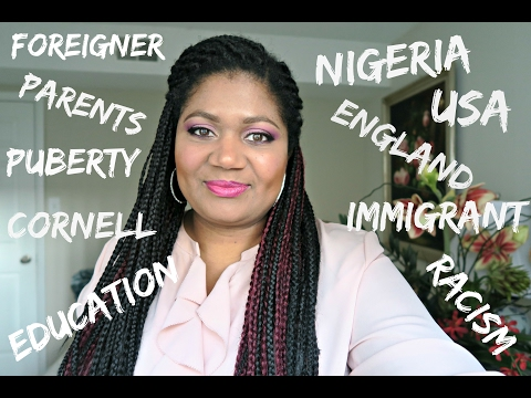 WHY I LEFT NIGERIA.  MY IMMIGRANT STORY.  GETTING INTO CORNELL