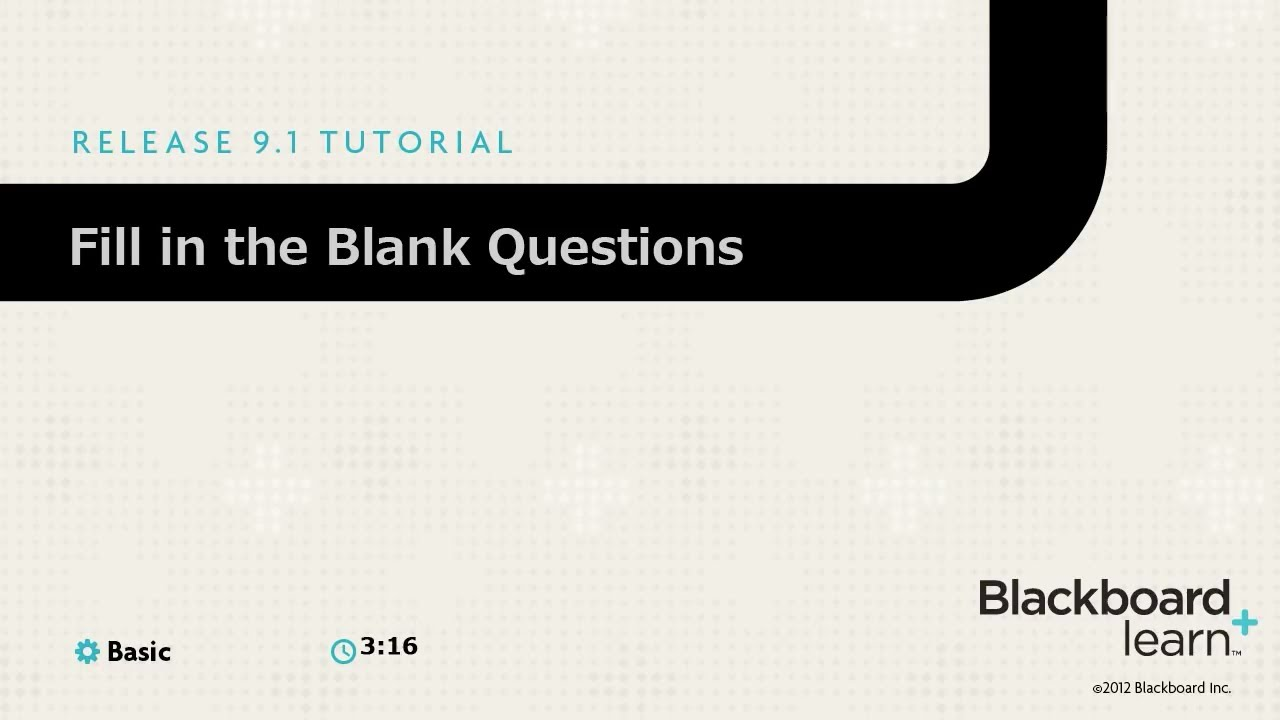 fill in the blank questions and answers