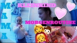 MORGENROUTINE MIT KLEINKIND👩👧 FamilyVlog #63