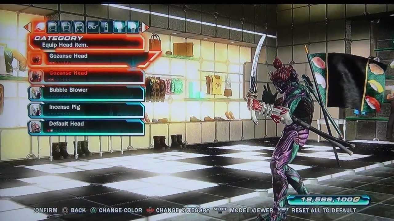 Tekken Tag 2 Yoshimitsu Customization Youtube