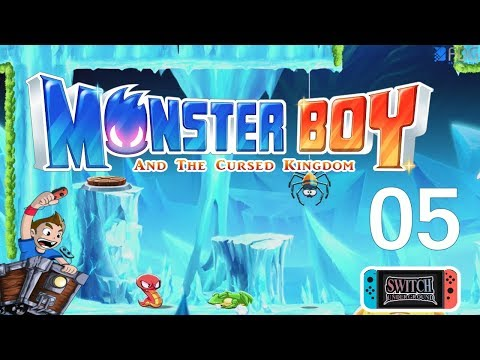 Part 5 Crystal Caves Monster Boy and the Cursed Kingdom FDG Entertainment - Nintendo Switch Gameplay thumbnail