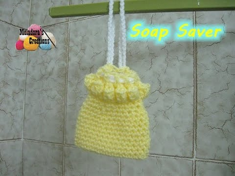 How To Crochet A Soap Saver Crocheted Bathroom Projects Youtube