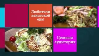 Видео презентация для сети ресторанов быстрого питания ВОК№1