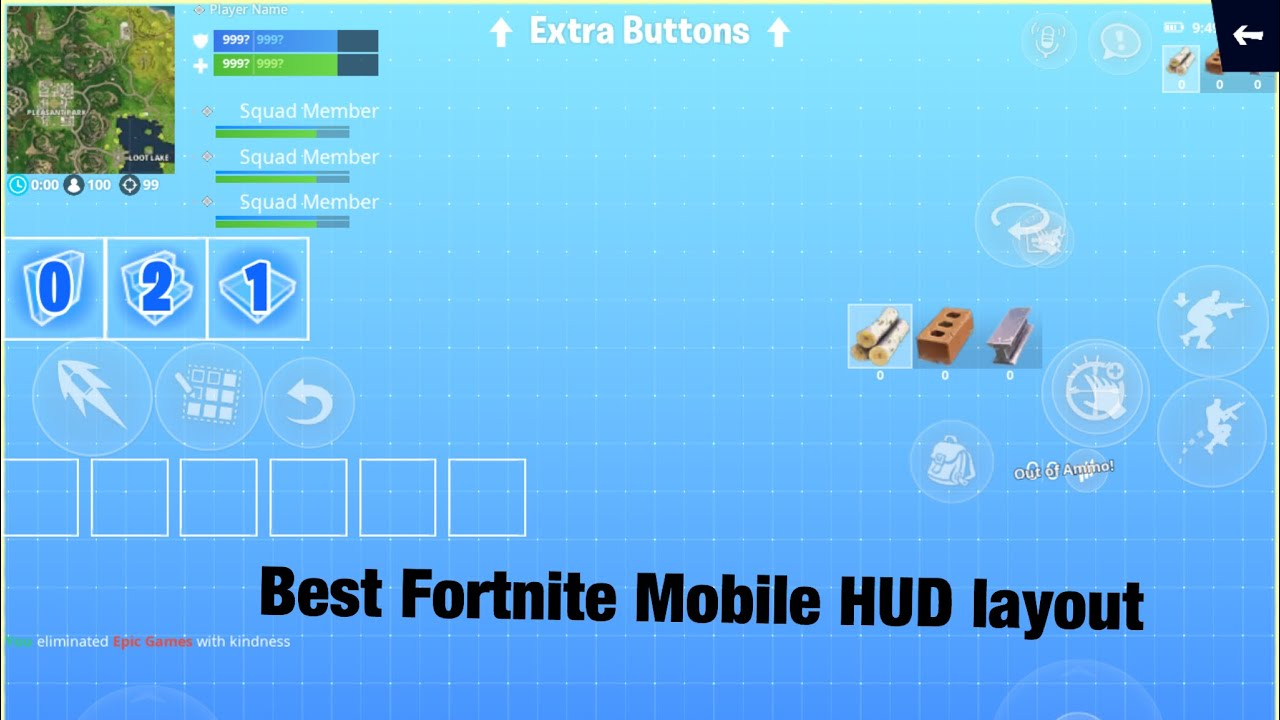 The best 4 finger claw HUD layout for IPad!!!! And best settings for  Fortnite Mobile!!! Enjoy!!!