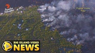 Hawaii Volcano Eruption Update - Thursday Morning (July 5, 2018)