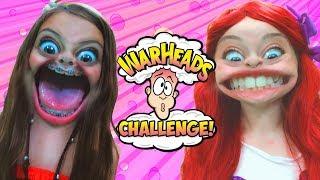 Princess Warhead Challenge | Moana, Ariel, Belle & Tink | WigglePop