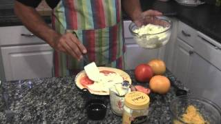 My Tomato Pie Recipe by Southern Smarts.wmv