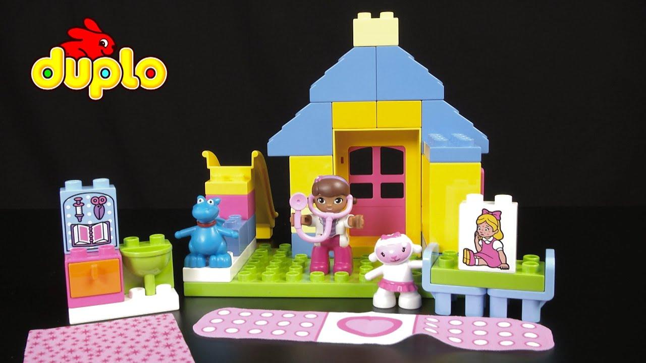 lego duplo doc mcstuffins backyard clinic from lego youtube