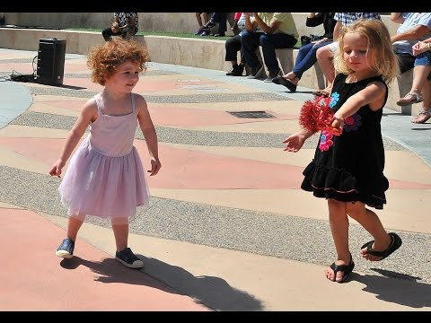 Kids dance to Opera on Track in Santee debut