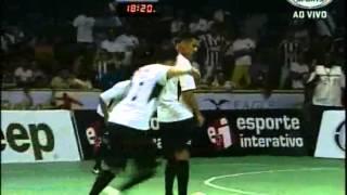 El mejor gol de la Historia del Futsal..!! Falcão en un amistoso..!! 18/12/2012.avi