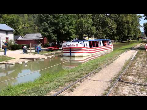 Metamora Canal Boat in Franklin County, Indiana