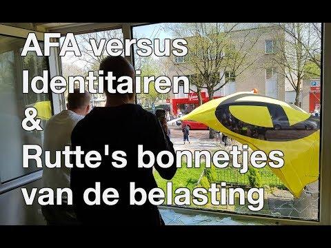 AFA versus Identitair Verzet & Rutte's Bonnetjes