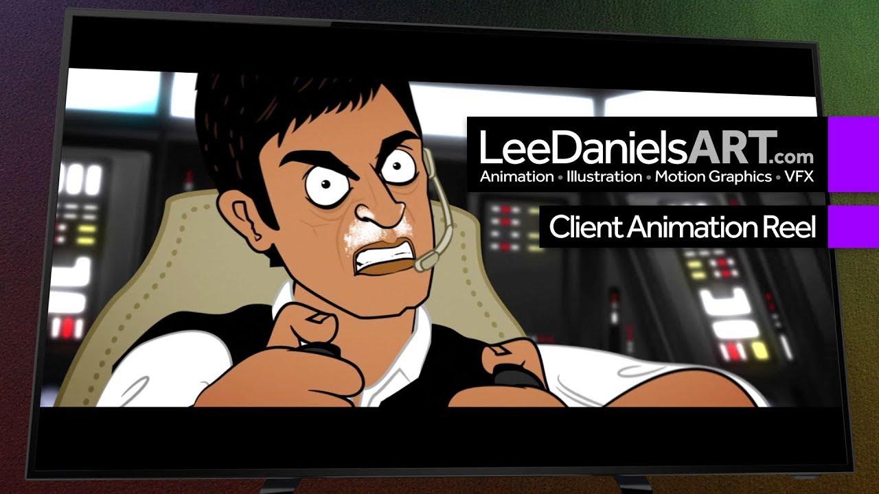 After Effects Animation | LeeDanielsART | Client Reel