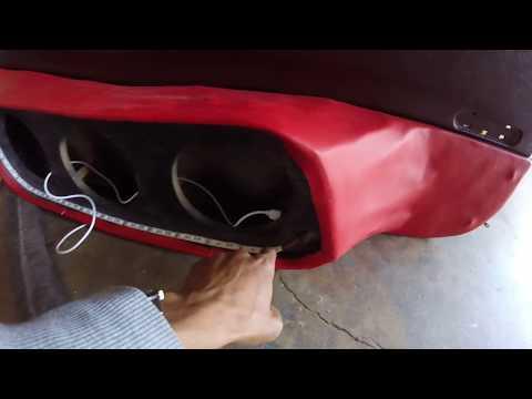 Silverado Fiberglass Doors Part 4 of 4: Fabric & Filler