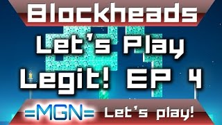 Blockheads 1.6, let