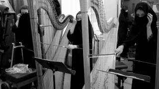 Extended technique for Harp(harp with bow), Amir Sadeghi Konjani