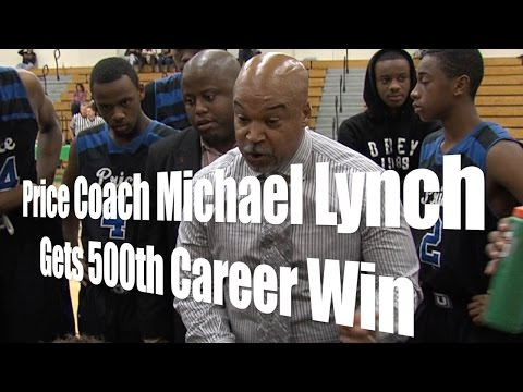 Price Coach Michael Lynch Gets 500th Win, Interview, 1/10/15