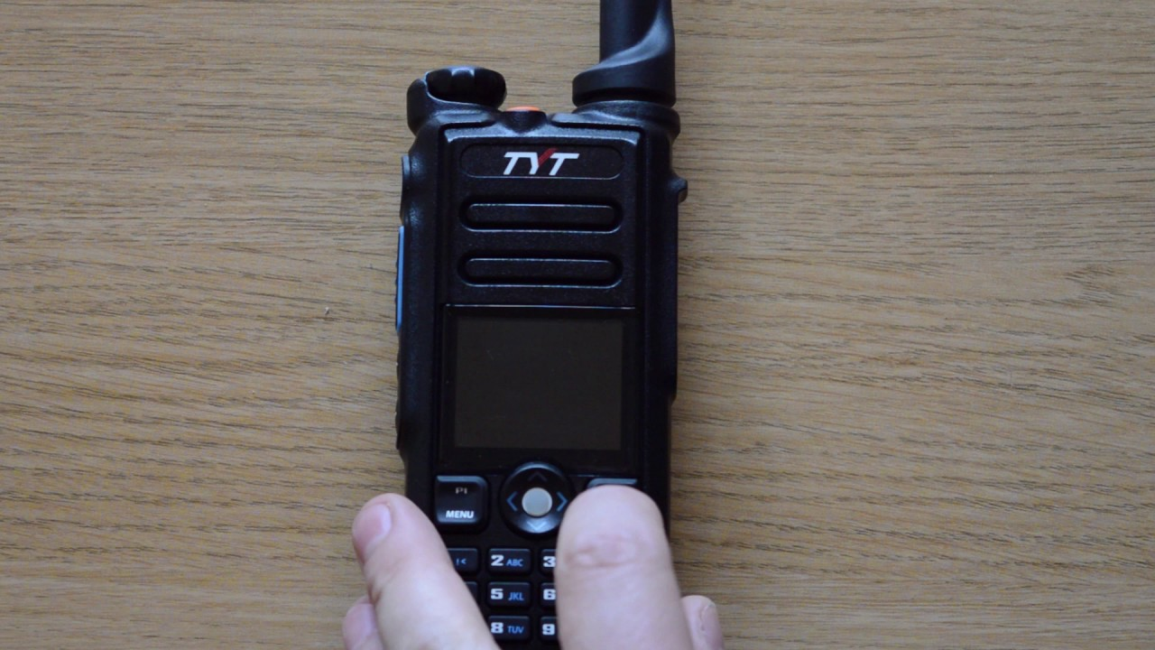 TYT MD-2017 demo of dual band functionality