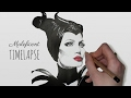 Speed Drawing: Maleficent