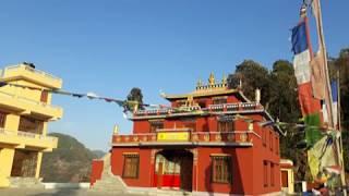 ह्रिस्याङगो गोन्पामा ह्राप्ने हुँदै...  Lisankhu Gonpa