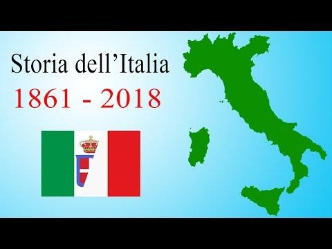 Storia dell'Italia: dal 1861 al 2018