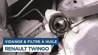 Faire la Vidange et changer le filtre à huile sur Renault Twingo 1