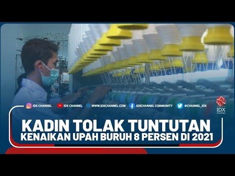 KADIN TOLAK TUNTUTAN KENAIKAN UPAH BURUH 8 PERSEN DI 2021