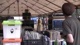 Garance Reggae Festival 2012 - Steppin Forward HiFi / Dub Livity / Roots Meditation