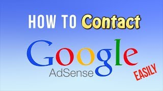 How To Contact Google Adsense Easily