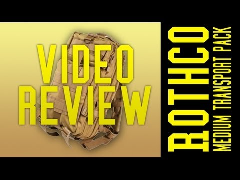 Video Review: Rothco Medium Transport Pack