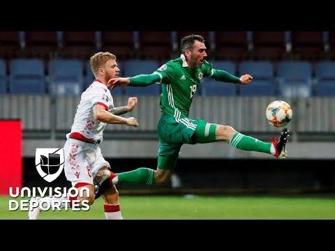 Bielorrusia 0-1 Irlanda del Norte - RESUMEN Y GOL - Grupo C - Clasificatorio Eurocopa 2020