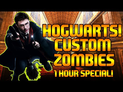 Hogwarts! | Custom Zombies | 1 HOUR SPECIAL!