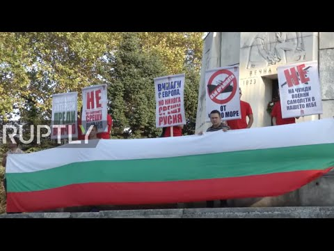 Bulgaria: Protesters rally against EU sanctions on Russia