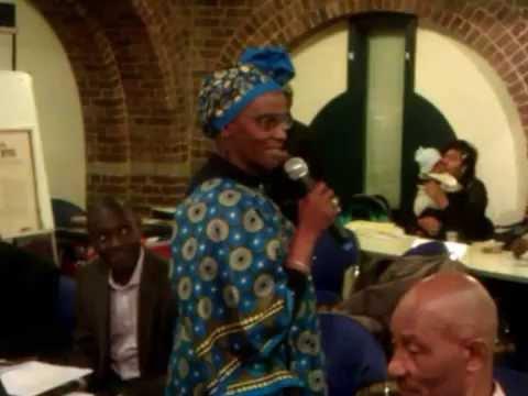 Are go grap - Krio Descendants London Black History Event 2014