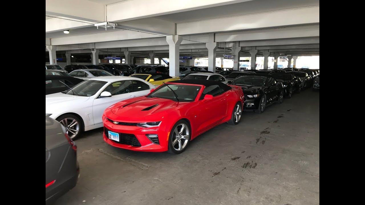 Alamo Car Al Los Angeles Lax Suv And Convertible Cabrio Rows April 2018