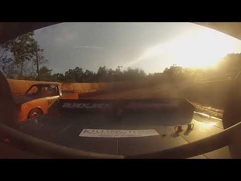 East Lincoln Speedway 8-17-19 Pro 4 Rear Cam Heat Race Alexus Motes