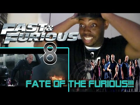 The Fate of the Furious Trailer #1 | FAST & FURIOUS 8 REACTION!!!