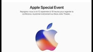 iPhone 8, iPhone X, Apple Watch 3 & Autres ! (Résumé Keynote 12/09/2017)