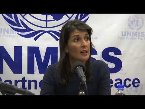 US Ambassador to UN Demands Progress on Peace in South Sudan