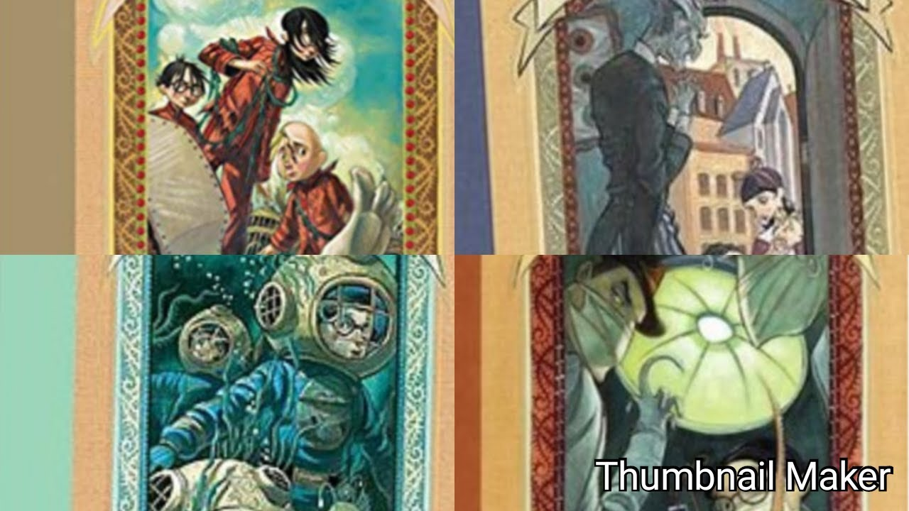 "Download Ranking All Books From ""A Series Of Unfortunate Events"" From Worst To Best"