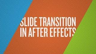 Wie Erstellen Sie eine Dia-Überblendung in After Effects