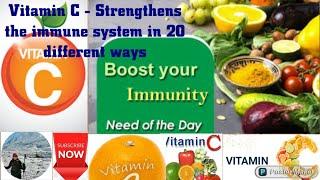 Vitamin c & immune system