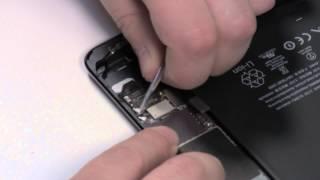 Как разобрать iPad Mini (стекло предварительно отлеено).(http://macplus.ru/ --- ремонт техники Apple http://mac-parts.ru/ --- магазин запчастей Apple., 2012-11-17T13:27:12.000Z)