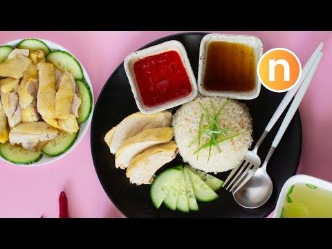 Hainanese Chicken Rice   Nasi Ayam Hainan   海南鸡饭 [Nyonya Cooking]