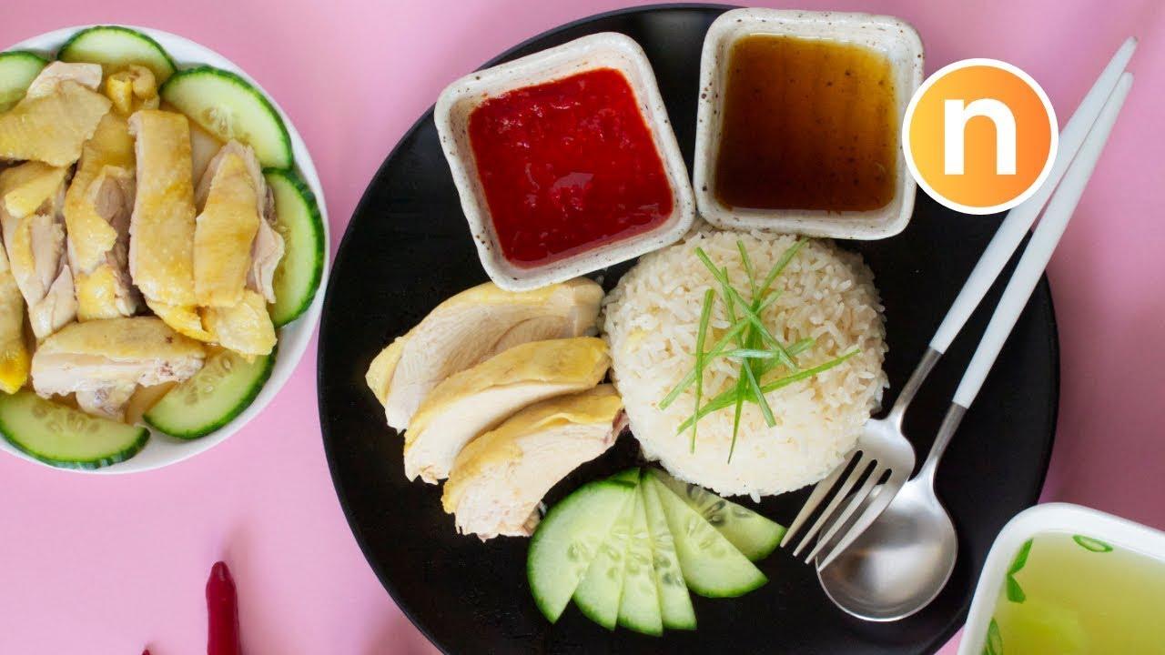 Hainanese Chicken Rice | Nasi Ayam Hainan | 海南鸡饭 [Nyonya Cooking] - YouTube