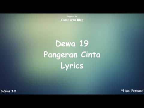 Dewa 19 - Pangeran Cinta Lyrics